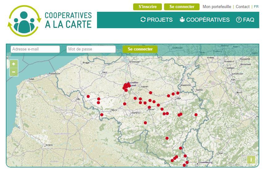 ecran cooperatives a la carte